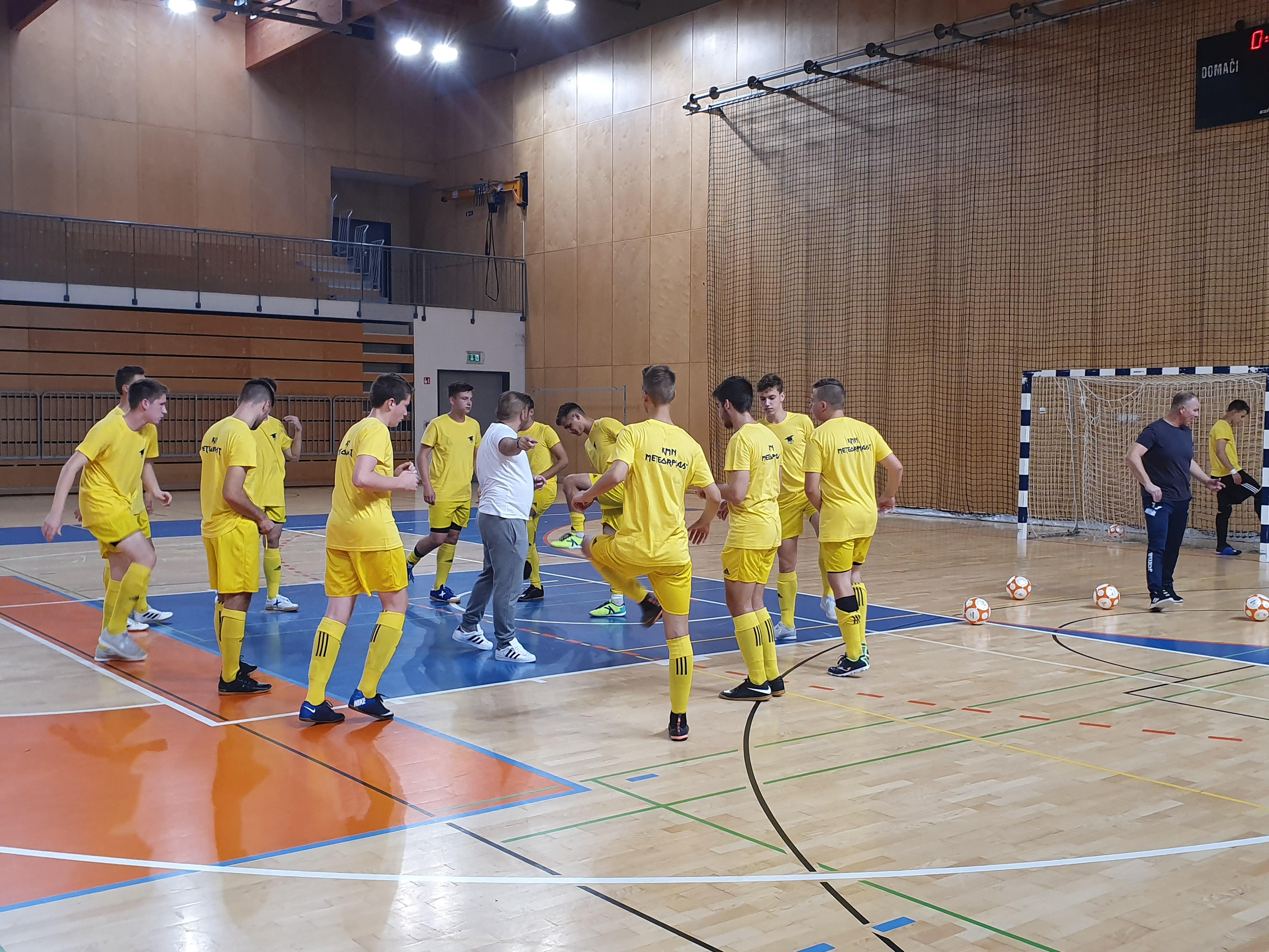 Zmaga tudi za selekcijo U19