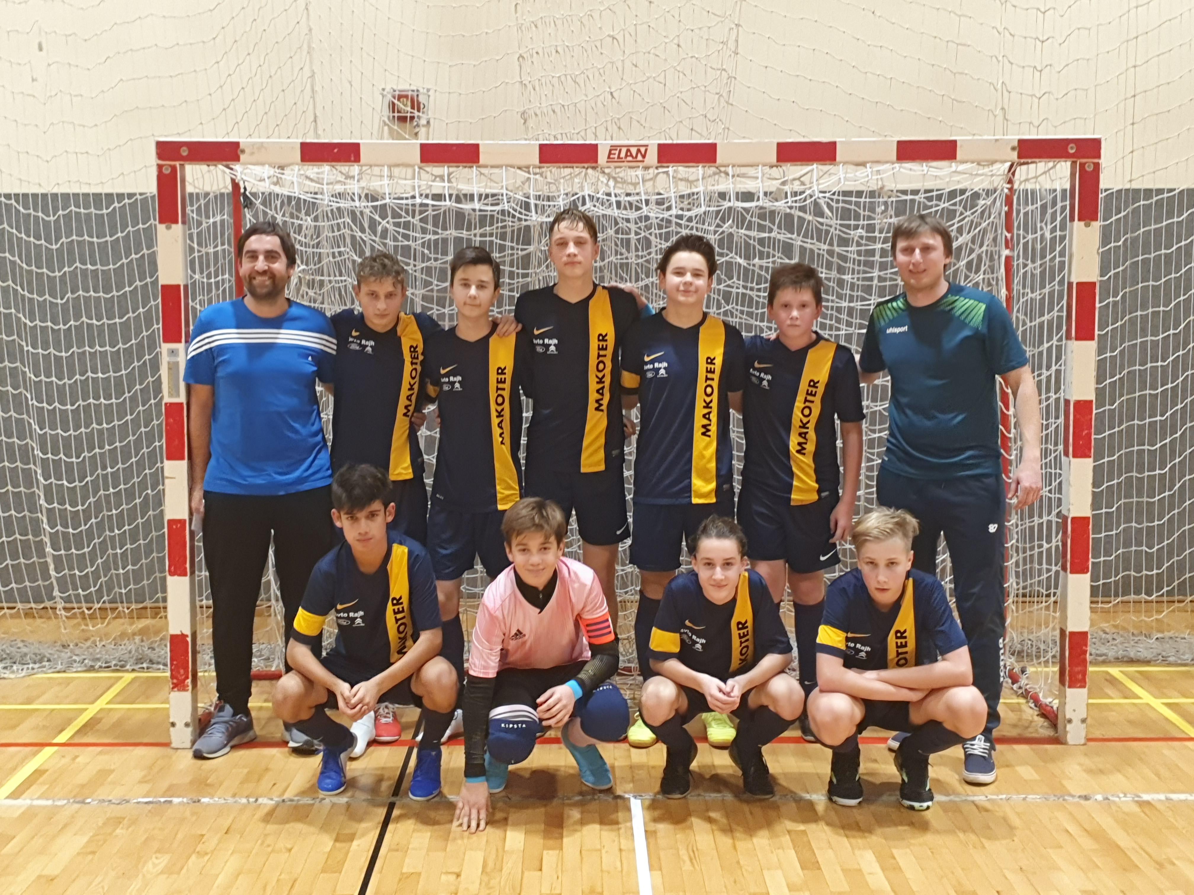 U15: Zmaga vredna lige za prvaka