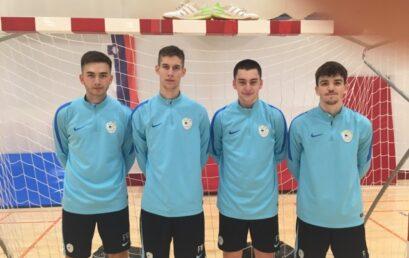 U19: Na pripravah reprezentance tudi naši igralci
