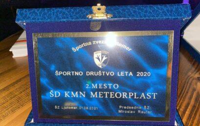 Podelitev nagrad Športnik leta 2020